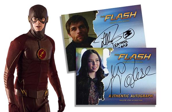 2016 Cryptozoic The Flash Season 1 Autographs Header