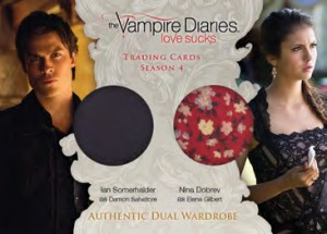 2016 Cryptozoic Vampire Diaries Season 4 Dual Wardrobe