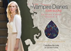 2016 Cryptozoic Vampire Diaries Season 4 Wardrobe Card