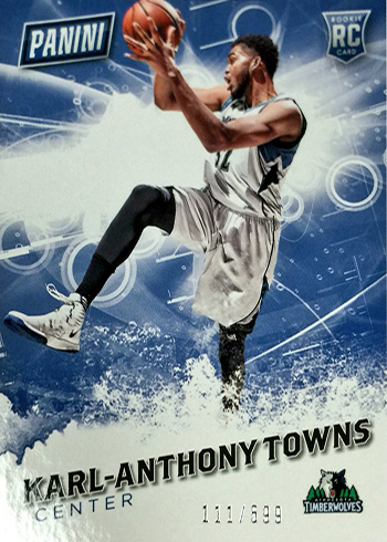 2016 Panini Fathers Day Base Rookies Karl Anthony-Towns