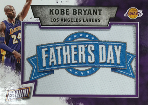 2016 Panini Fathers Day FD Patch