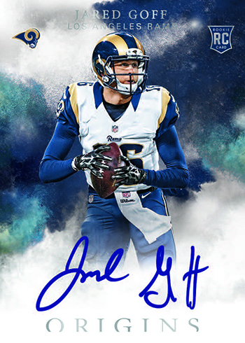 2016 Panini Origins Rookie Autographs