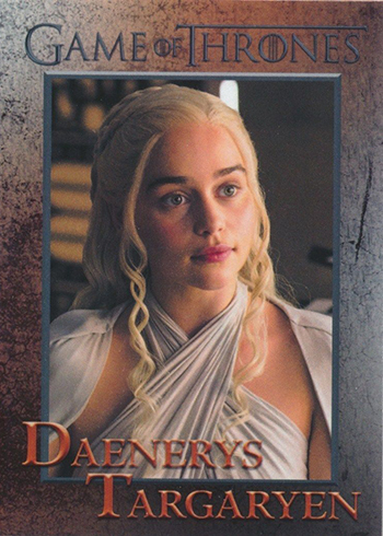 2016 Rittenhouse Game of Thrones Season 5 Base Character