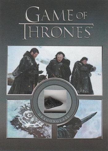 2016 Rittenhouse Game of Thrones Season 5 Dragonglass Relic
