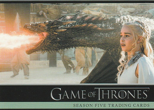 2016 Rittenhouse Game of Thrones Season 5 Promo