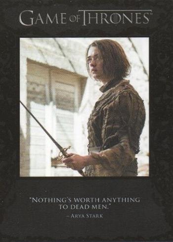2016 Rittenhouse Game of Thrones Season 5 Quotable