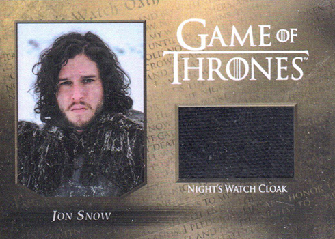 2016 Rittenhouse Game of Thrones Season 5 Relic CC1