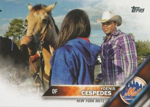 2016 TS2 Variation 407 Yoenis Cespedes