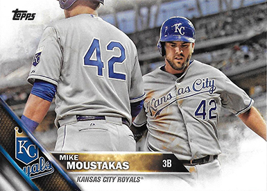 2016 TS2 Variation 410 Mike Moustakas