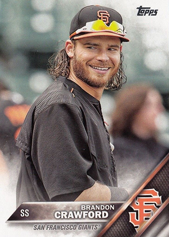 2016 TS2 Variation 442 Brandon Crawford