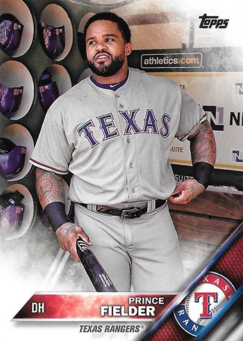 2016 TS2 Variation 443 Prince Fielder