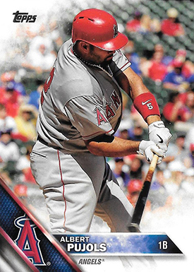 2016 TS2 Variation 500 Albert Pujols