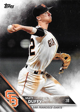 2016 TS2 Variation 518 Matt Duffy