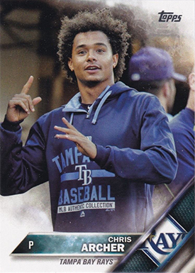 2016 TS2 Variation 521 Chris Archer