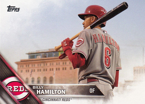 2016 TS2 Variation 609 Billy Hamilton