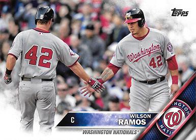 2016 TS2 Variation 658 Wilson Ramos