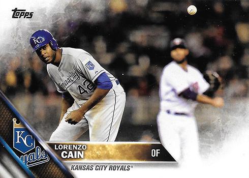 2016 TS2 Variation 696 Lorenzo Cain