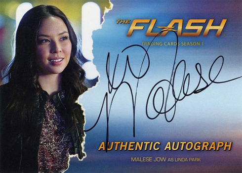 2016 The Flash Season 1 Autographs Malese Jow