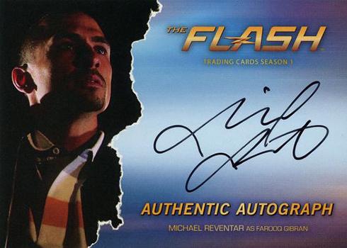 2016 The Flash Season 1 Autographs Michael Reventer
