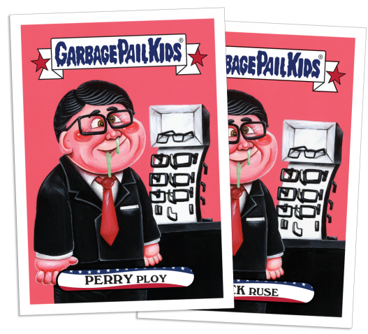 2016 Topps Presidential Losers Perry