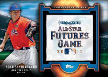 2016 Topps Series 2 Baseball Checklist - All-Star Futures Game Pin