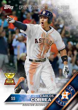 2016 Topps Series 2 Baseball Checklist - Base Correa