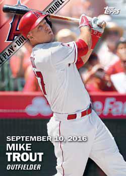 2016 Topps Series 2 Baseball Checklist - Double Play Rip Card