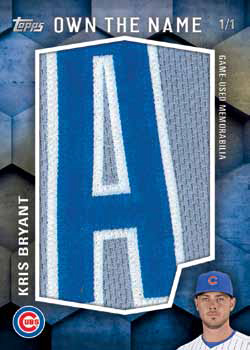 2016 Topps Series 2 Baseball Checklist - Own the Name