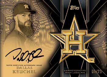 2016 Topps Series 2 Baseball Checklist - Team Logo Pin Autograph