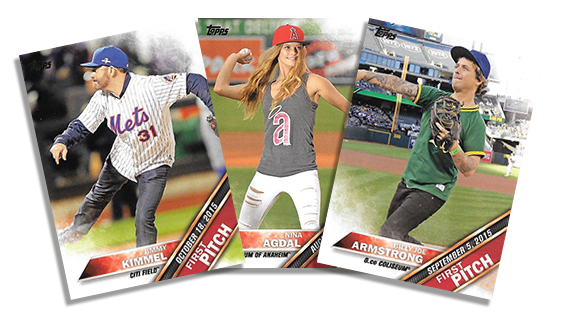 2016 Topps Series 2 First Pitch Header