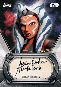 2016 Topps Star Wars Card Trader Autograph