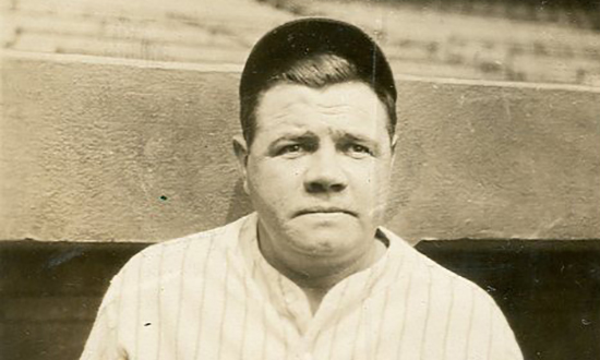 Babe Ruth Candid Wells Collection Lelands June 2016 header