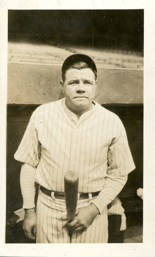Babe Ruth Candid Wells Collection Lelands June 2016