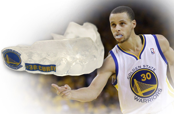 Stephen Curry Mouth Guard 2015-16 SCP B