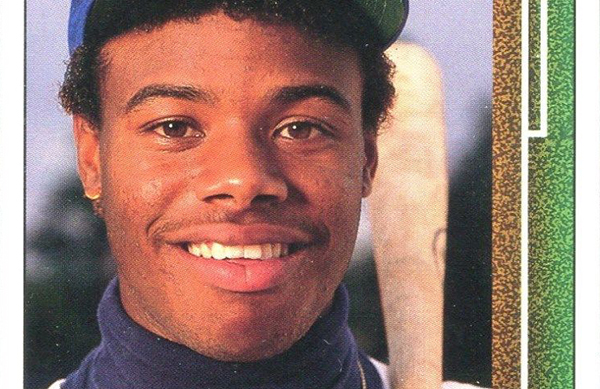 1989 Upper Deck Baseball 1 Ken Griffey Jr header