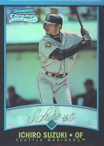 2001 Bowman Chrome Ichiro Suzuki RC