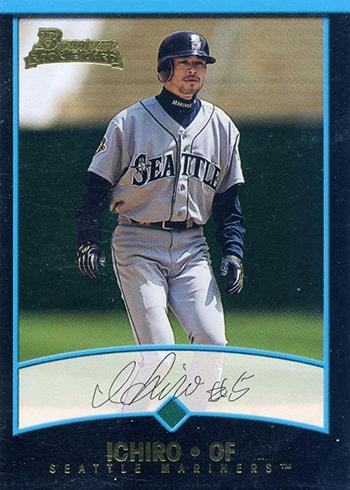 2001 Bowman Draft Ichiro Suzuki RC