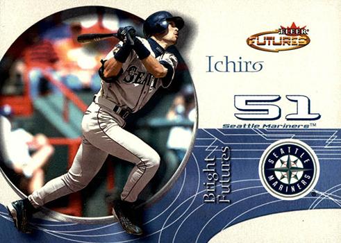 2001 Fleer Futures Ichiro Suzuki RC