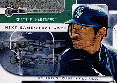 2001 Fleer Game Time Ichiro Suzuki RC