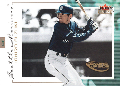 2001 Fleer Genuine Ichiro Suzuki RC