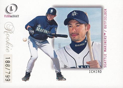 2001 Fleer Legacy Ichiro Suzuki RC