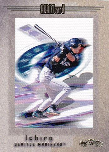 2001 Fleer Showcase Ichiro Suzuki RC
