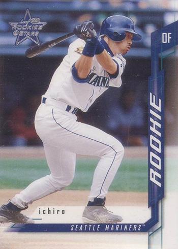 2001 Leaf Rookies and Stars Ichiro Suzuki