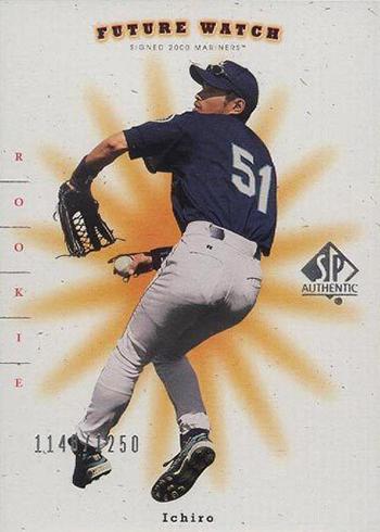 2001 SP Authentic Ichiro Suzuki RC