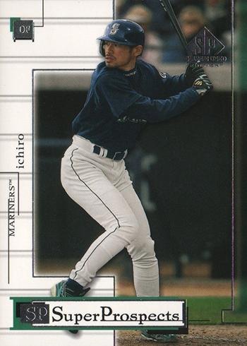 2001 SP Game Used Ichiro