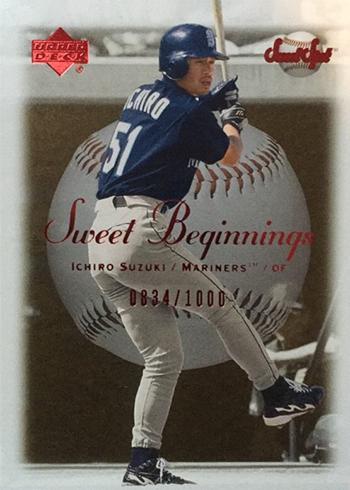 2001 Sweet Spot Ichiro