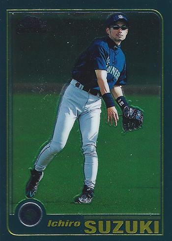 2001 Topps Chrome Traded Ichiro Suzuki RC