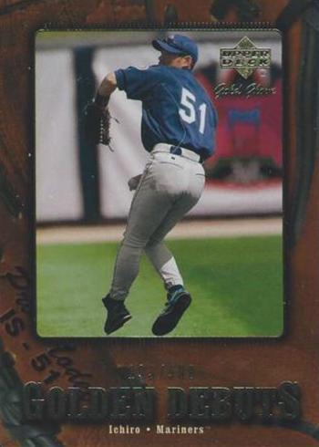 2001 Upper Deck Gold Glove Ichiro Suzuki RC