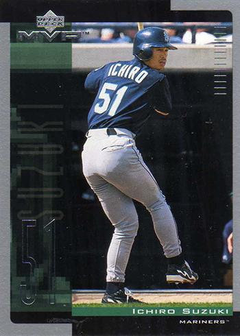 2001 Upper Deck MVP Ichiro