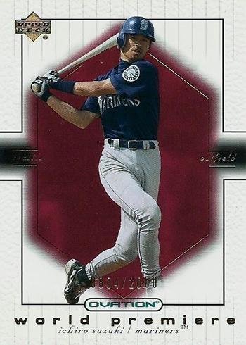 2001 Upper Deck Ovation Ichiro